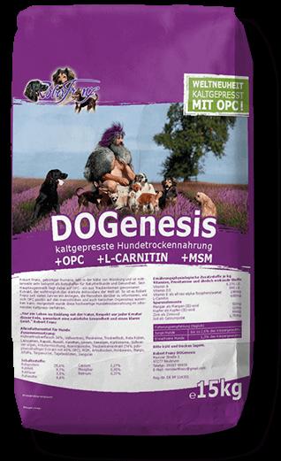 DOGenesis 15kg Trockenfutter für Hunde (Robert Franz)