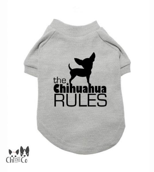 UP CHIHUAHUA RULES T-Shirt