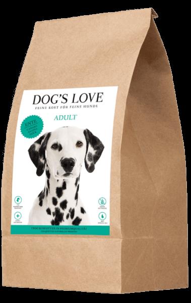 Dog's Love Trockenfuttter Ente