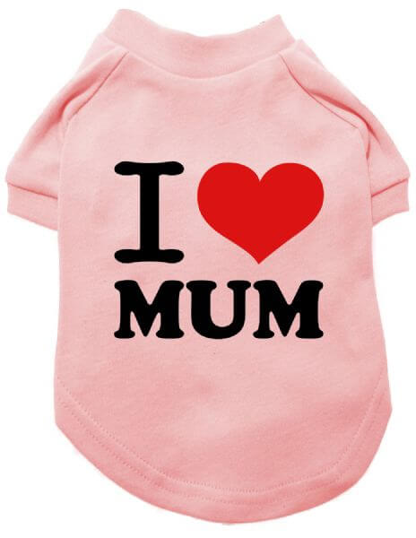UP I LOVE MUM T-Shirt