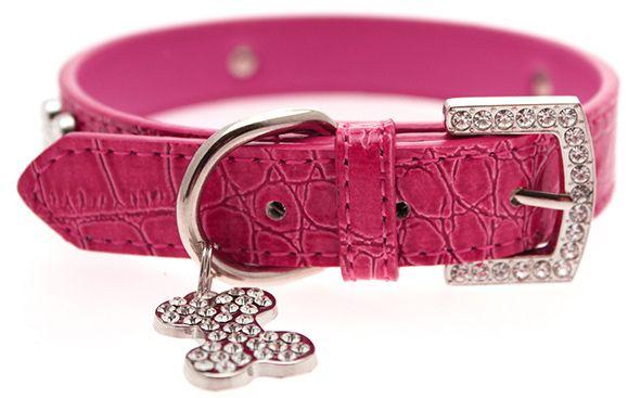 UP PINK CROCO Halsband