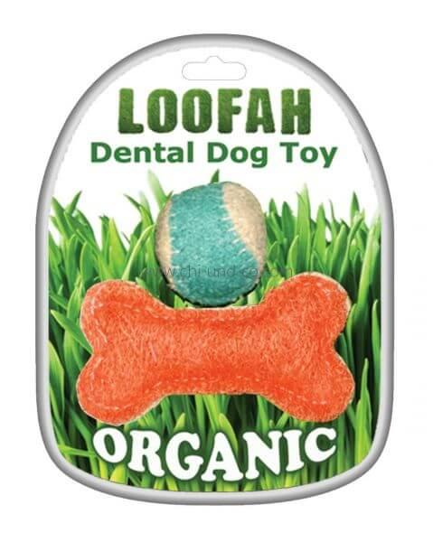LOOFAH PLAY 100% natürliches Zahn Spielzeug-Set