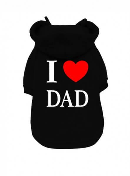 UP I LOVE DAD Kapuzenpullover