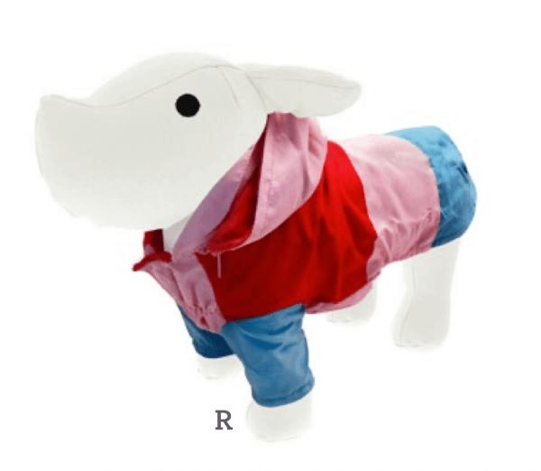 FB LOLLI-POP Fleece-Regenjacke Rot