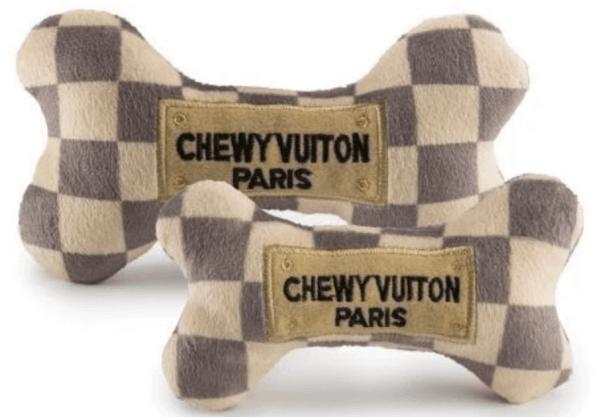 HDD Chewy Vuiton Knochen Spielzeug