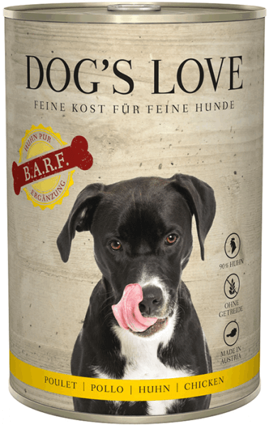 Dog's Love BARF Huhn 400g