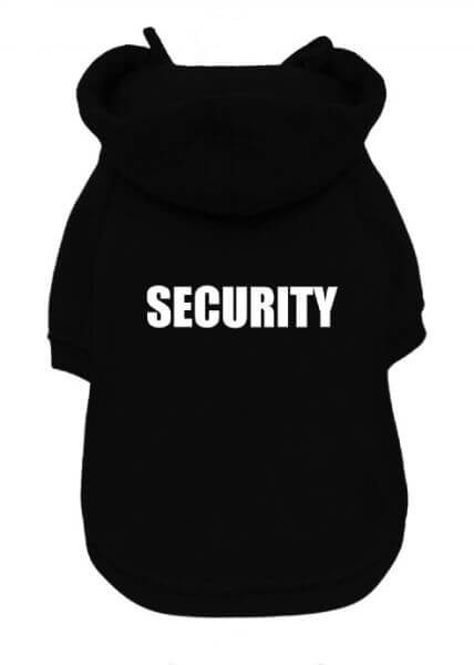 UP SECURITY Sweater mit Hoodie