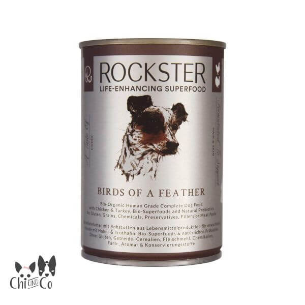 ROCKSTER SUPERFOOD BIO-GEFLÜGEL BIRDS OF A FEATHER 410g