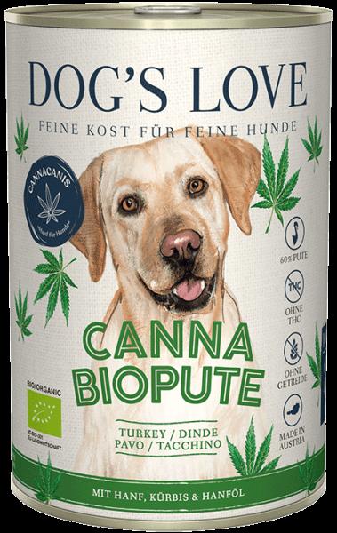 Dog's Love CANNA Bio Pute (400g)