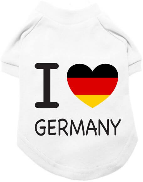 UP I Love Germany T-Shirt