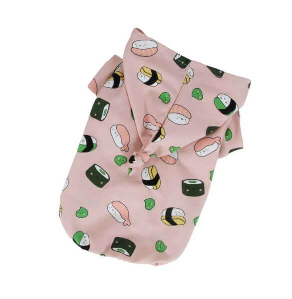 IP SUSHI LOVER T-Shirt mit Kapuze
