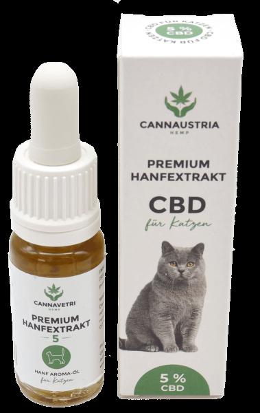 CannAustria Premium Hanfextrakt für Katzen 5 %