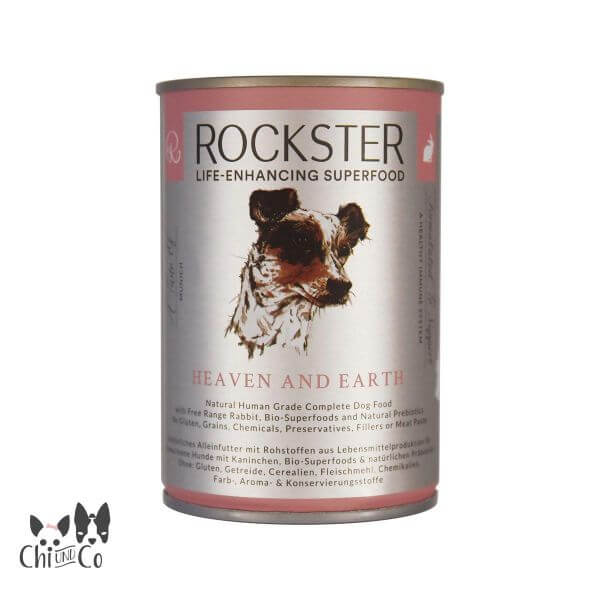 ROCKSTER SUPERFOOD BIO-KANINCHEN HEAVEN AND EARTH 400g