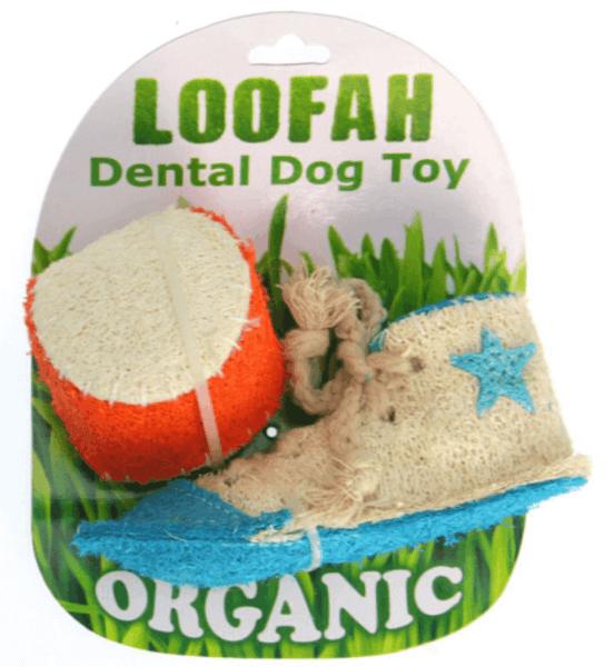 HD LOOFAH ATHLETIC 100% natürliches Zahn Spielzeug-Set