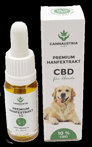 CannaVetri Premium Hanfextrakt für Hunde 10 %