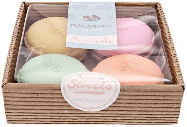 FB Hundespielzeug Latex Macarons (4stk)
