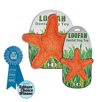HD LOOFAH STARFISH 100% natürliches Zahn Spielzeug