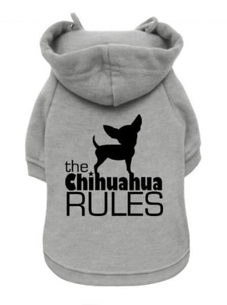 UP CHIHUAHUA RULES Kapuzenpullover