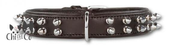 P2G DOUBLE SPIKE Halsband 25 mm