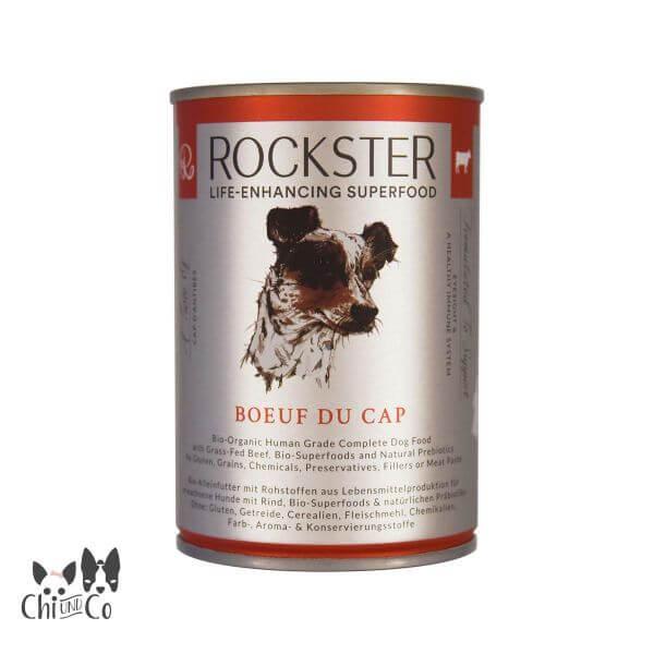 ROCKSTER SUPERFOOD RIND BOEUF DU CAP 410g