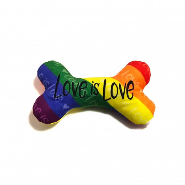 CD Love is Love Knochen Spielzeug