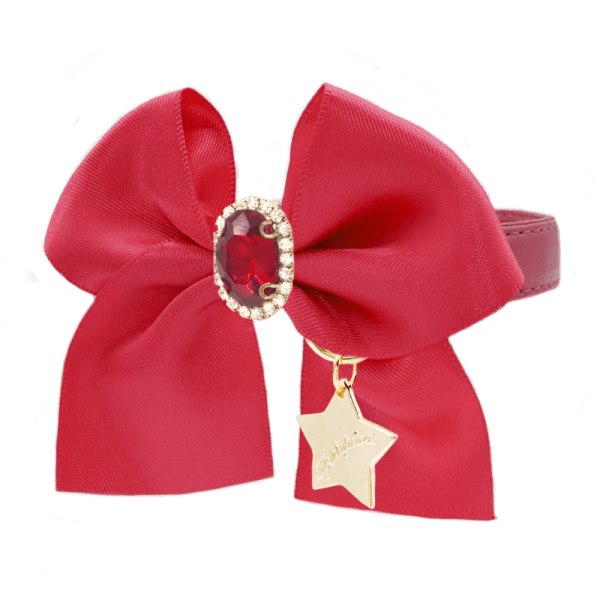 FL RED CAMEO Halsband
