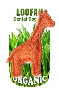 HD LOOFAH GIRAFFE 100% natürliches Zahn Spielzeug