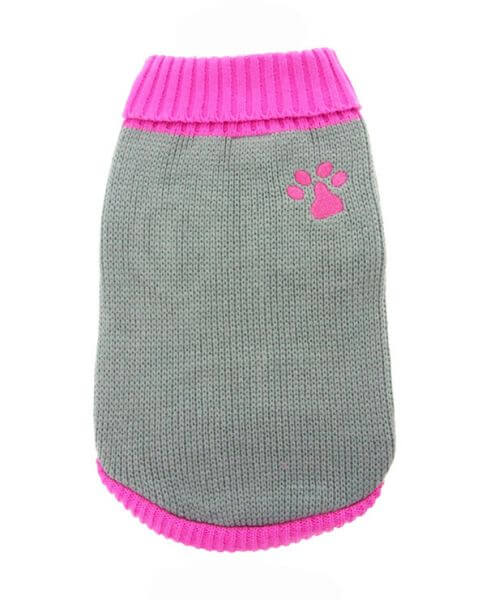 UP PINK PAW Sweater