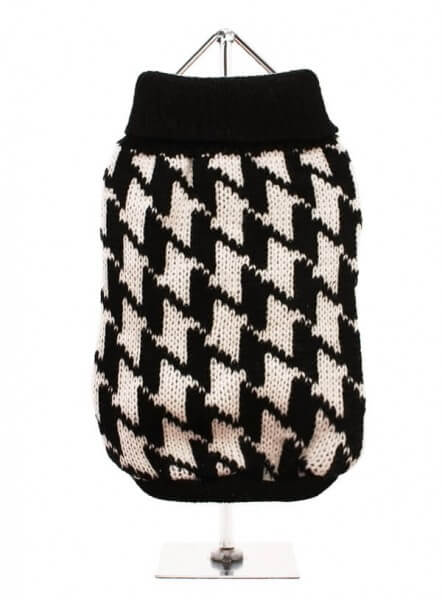 UP HOUNDSTOOTH Pullover