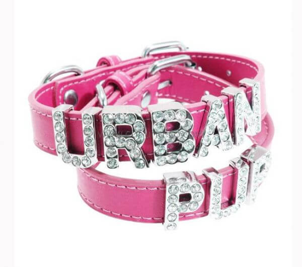 UP NAME IT PINK Halsband