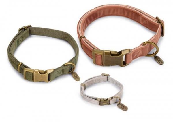 VELURA Grün Halsband