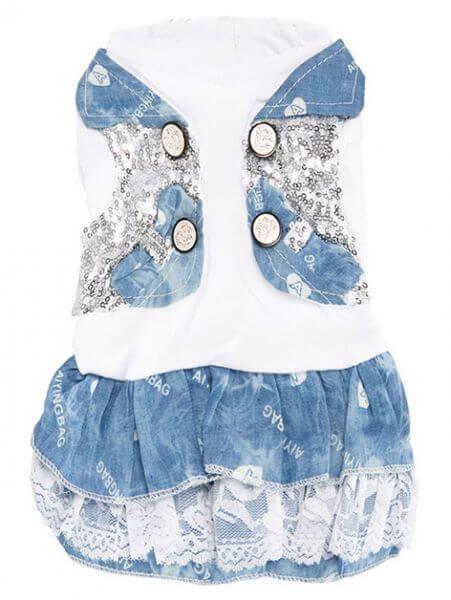 UP BLUE DENIM Shirt & Kleid Kombi