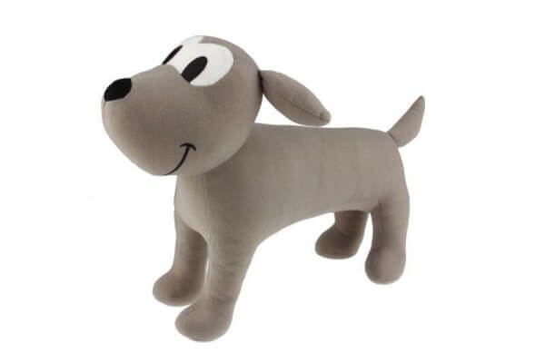 Fabric Dog Mennequin 30cm beige