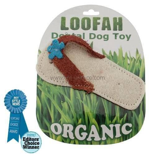 HD LOOFAH SANDAL 100% natürliches Zahn Spielzeug