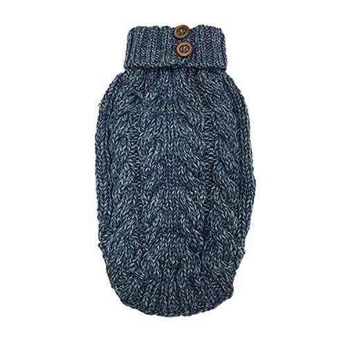 CABLE BLUE Sweater
