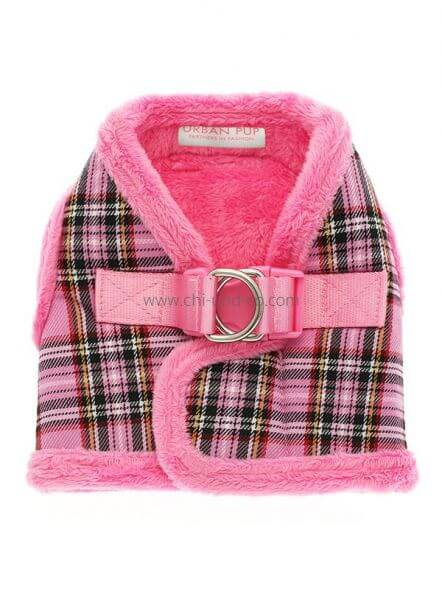 UP PINK TARTAN WINTER Geschirr