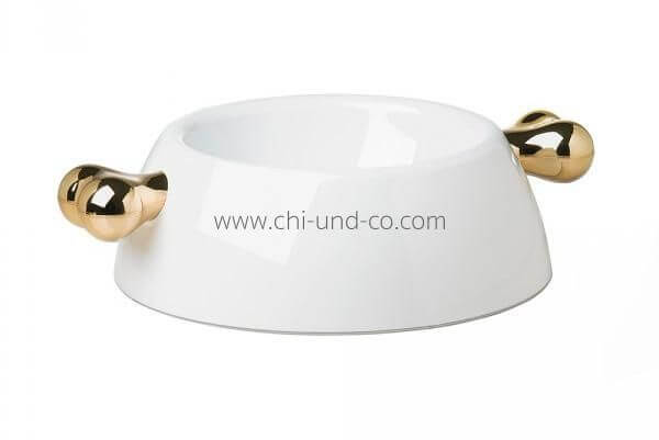ATRIUM CLASSIC WEISS/GOLD Napf
