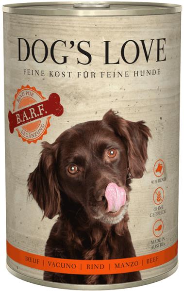 Dog's Love BARF Rind 400g