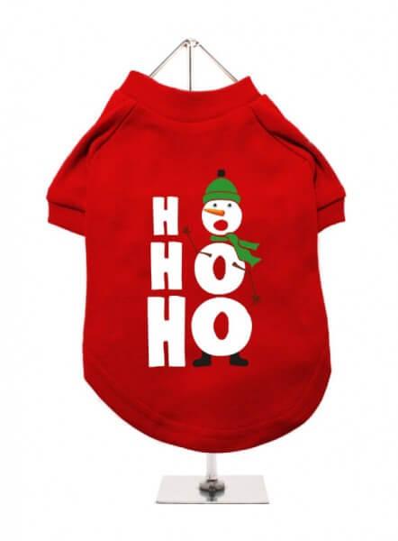 UP HO HO HO Snowman T-Shirt