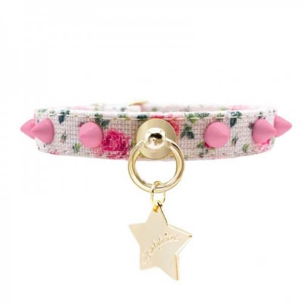 FL Shabby Punk Pink Halsband