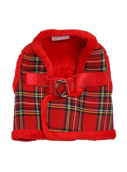 UP RED TARTAN WINTER Geschirr