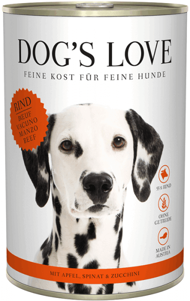 Dog's Love Classic Rind 400g