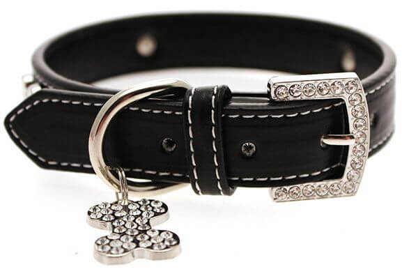 UP BLACK BONEY Halsband