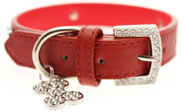 UP RED BONEY Halsband