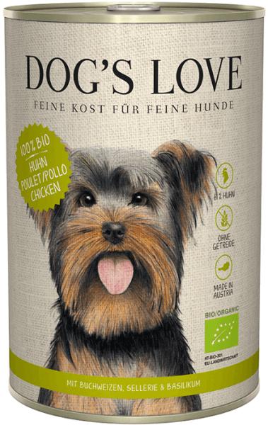 Dog's Love BIO Huhn