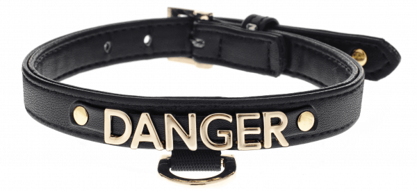 FB DANGER Halsband BLACK