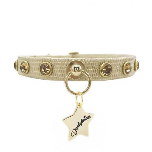 FL CRYSTAL GOLD Halsband