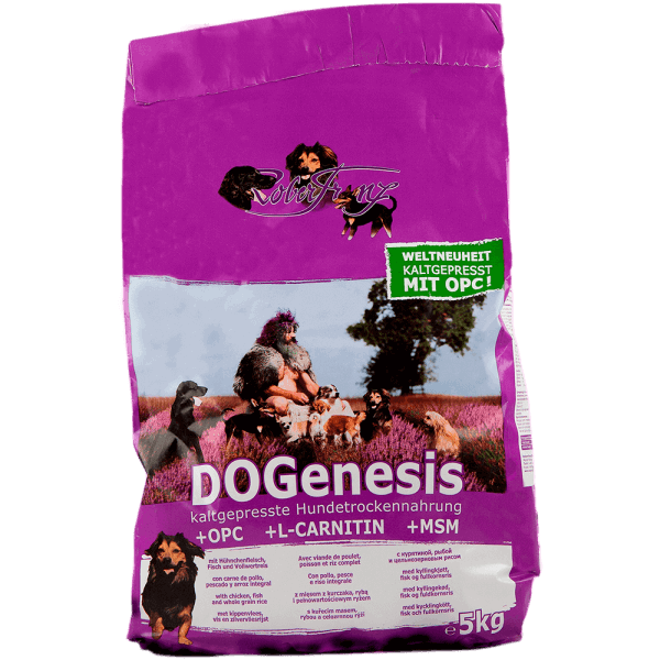 DOGenesis 5kg Trockenfutter für Hunde (Robert Franz)
