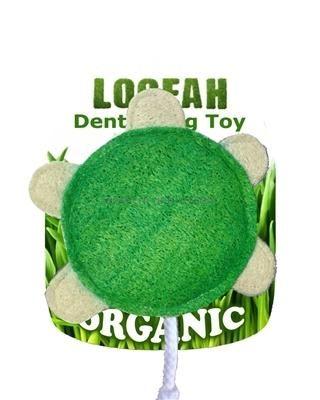 HD LOOFAH TURTLE 100% natürliches Zahn Spielzeug