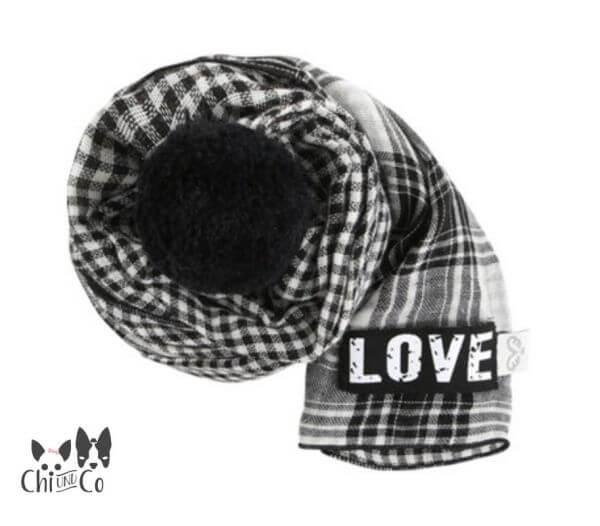 PA LOVE BLACK Schal